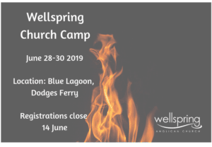 Church Camp June 28-30 2019
