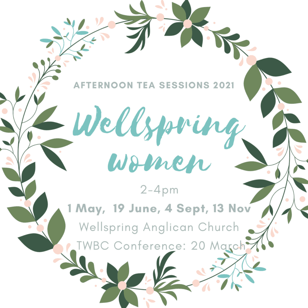 Wellspring Women Afternoon Tea Sessions